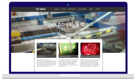 Izrada Web Stranica T-lab
