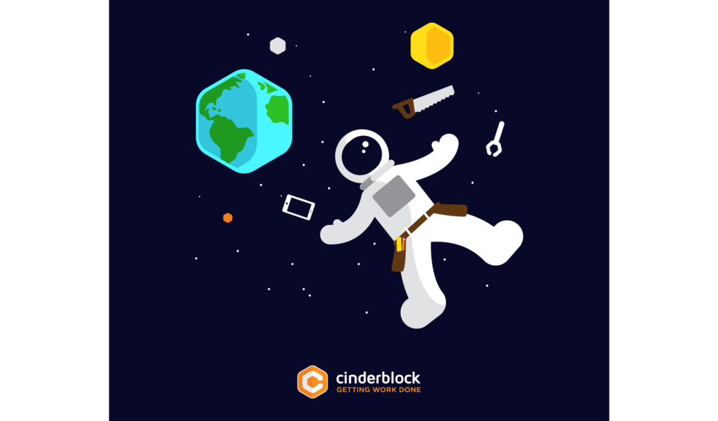 Internet Oglašavanje Cinderblock T-Shirt