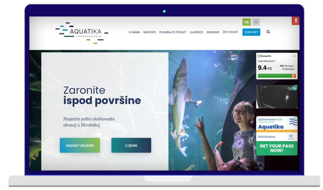 Izrada Web Stranica Aquatika