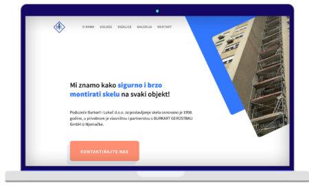Izrada Web Stranica Burkart & Lukač