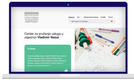 Izrada Web Stranica Dom Vladimir Nazor