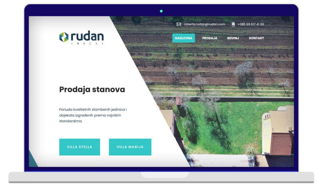Izrada Web Stranica Rudan INVEST