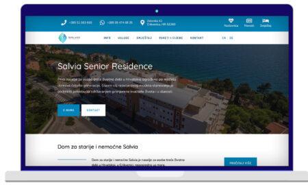 Izrada Web Stranica Salvia Residence
