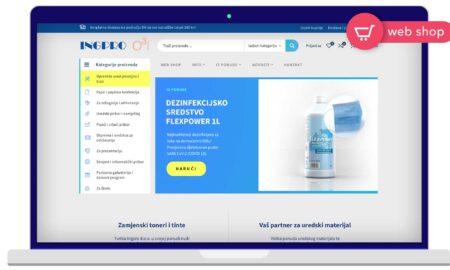 Izrada Web Shop-a Ingpro