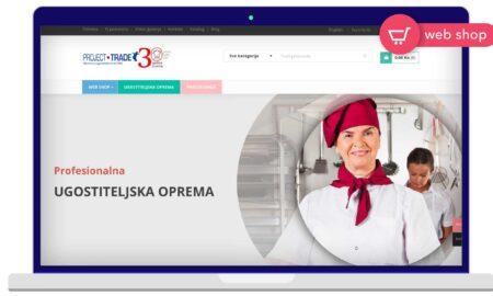 Izrada Web Shop-a Project Trade